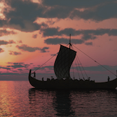 Viking Longboat Image